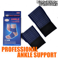 Wholesale 60pcs Ankle protector New High quantity Blue Elastic ankle support Brace Fastener guard CN shipping SS