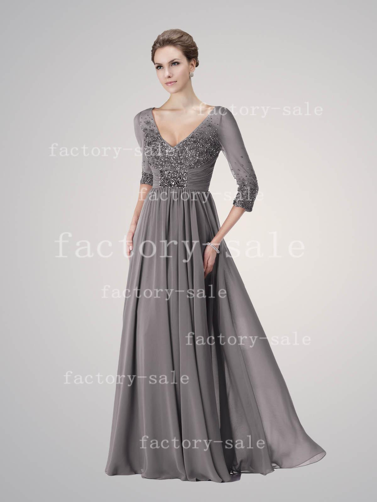 Grey Mother Of The Bride Dresses