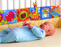 Wholesale lamaze multifunctional fun bed around multi colored baby cloth books baby toy CM