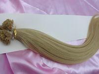 Cheap Brazilian Hair indian virgin human hair Best Blonde Straight flat tip hair