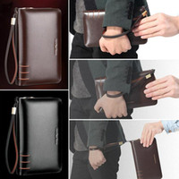 Wholesale socool2010 Men s Genuine Leather Business Clutch Bag Handbag briefcase Wallet Purse AR196