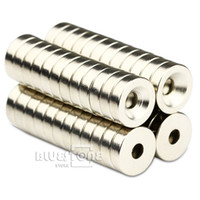 Wholesale N50 Round Ring Magnets mm x mm Hole mm Disc Rare Earth Neodymium
