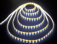 Wholesale LED strip light ribbon single color meters SMD waterproof DC V White Warm White Red Green Blue Yellow
