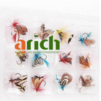 Wholesale 12PCS Top Quality Butterfly Design Single Hook Fishing Lure Fishing Tackle Color Pattern Assorted