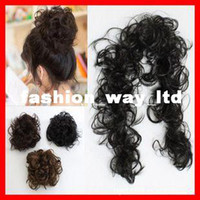 Synthetic hair band caterpillar - hair buns hair accessories spring caterpillars hair wound laps contract