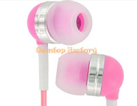 Wholesale Fedex wholesales Colourful Earphones For iPod MP3 MP4 Stereo earphone for iPad mm jack pc