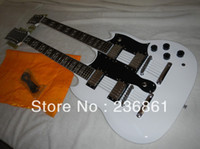 Cheap HOT wholesale 1275 Double neck electric guitar 12 6 String electric guitar Musical Instruments free shipping