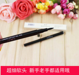 Wholesale New YOROM Big Eye Waterproof Liquid Eyeliner for Lady Black Liquid Eyeliner Cosmetic Makeup Eye Liners Real Pen Eyeliner One Step Eyeliners