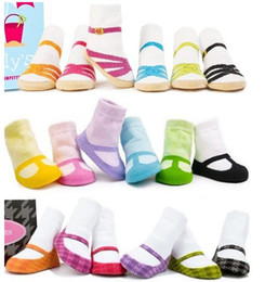 The new Unisex Baby Kids Toddler Baby Boat socks Girl Boy Anti-Slip Socks Shoes Slipper YFF .