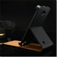n7000 case - Genuine Leather Flip case for samsung galaxy note N7000 I9220 phone bag cover black luxury drop ship OYO