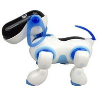 5-7 Years Blue Plastic Cute Robot Dog,Electronic Dog,Lovely i-ROBOT Doggie Pet,Novelty Gift, Christmas Gift