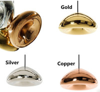 Wholesale Tom Dixon Void Pendant Lamp Void Light Copper Silver Gold Void Big Mini Pendant Lamp Ceiling Light Suspension Lighting Chandelier Lamps