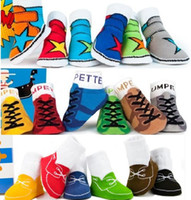 Wholesale 2014 Unisex Baby Kids Toddler Baby Boat socks Girl Boy Anti Slip Socks Shoes Slipper YFF