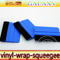 Wholesale High Quality Softest Car Vinyl Scraper With Cloth Car Wrap Squeegee Size x73dm Car Wrap Paste Tools