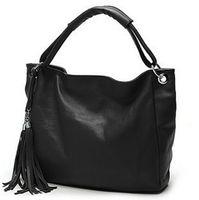 Wholesale Leather Designer Handbags Fashion Woman Handbag Fashion Vintage Tassel Bag Luxury Womens Tote Shoulder Hand Bag
