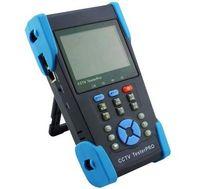 NOUVEAU 3.5 pouces CCTV testeur moniteur caméra analogique testeur fibre optique TDR Enregistrement vidéo POE IP Ping test 4G