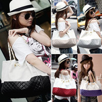 Wholesale Fashion Womens Chain Pu Leather Quilted Shoulder Bag Tote Handbag bx71