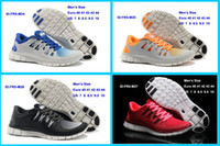 Wholesale Fashion stylish hot sport barefoot free run running shoes women men Free Run sports shoes sizes