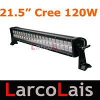 Wholesale 21 quot W Cree LED Light Bar Working Light Bar Flood Lamp Tractor Truck Trailer SUV Jeep Offroads Boat Super Bright
