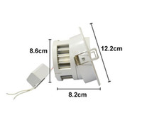 Cheap LED DownLight Dimmable CREE 3W 5W 7W items White shell 330-770LM Bathroom living room kitchen light