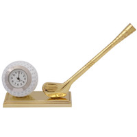 Wholesale DHL Novelty Golf Themed Miniature Desktop Mini Clock Novelty Gifts
