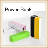 Wholesale Universal Powerbank mah Portable USB Charger Backup External Battery for iphone plus samsung Galaxy s5 s6 s7 edge Retail box