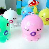 Wholesale Photo Color Novelty Sharpener Cartoon pencil sharpener Lovely octopus pencil cutter P77