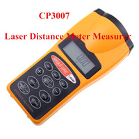 Wholesale CP3007 SuperTough Contractor Grade Ultrasonic Distance Meter Tester Laser Measure Laser Pointer