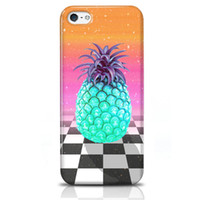 Wholesale Hot Selling Iphone S C Cases Shake Proof Phone Cases Back Soft Cases Individual OPP Packing Delicious Pineapple Fruits