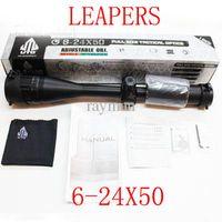 Rifle Scope 6-24x50 - Leapers UTG X50 Full Size AO Mil dot RG Rifle Scopes Riflescopes with Sunshade