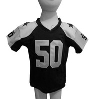 Wholesale Kids Football Jerseys Sean Lee Throwback Navy Blue White Toddler Game Jersey Thanksgiving Sports Jerseys for Babies Mix Order