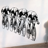 other bicycle wall art - Meijia Bicycle racing Wall Stickers Size Height MM MM Width Wall Decor Removable Art Wall Decals PVC Vinyl Sticker MJZ