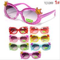 Wholesale New Arrival children cute glasses frame boys girls no lens glasses kids spectacle frames popular Sunglasses Frames