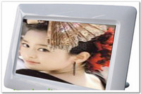 Wholesale DHL quot Digital Frame USB Super Thin Buttons Digital Photos Frame Support SD MMC MS cards