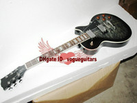Wholesale Chinese factories Newly arrived black ash custom guitar