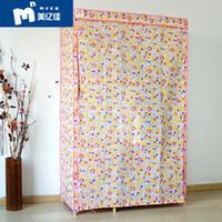 Wholesale Simple storage wardrobe cloth cover non woven canvas single cloth cover