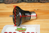 25W 50w 75w 100w 20000 hours  300pcs 110V 220V 25w-100w mini Infrared Ceramic heat lamp infrared bulb Pet heat light (Reptile pet amphibian poultry)