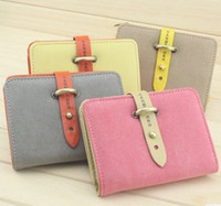 Wholesale Fashion PU leather women wallet ladies purse promotion wallets women