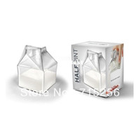 Wholesale Half Pint HALF PINT the Mini Carton Creamer A Milk Cup like you have never seen
