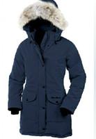 Women Hooded Long New Arrival Dark Blue Women's Long Down Coat Warm Down Jacket Lady's Winter Coat Goose Down Parka Jacket Size XS-XXL