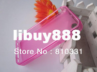 Wholesale DHL shipping For iphone G S iphone4G iphone4S iphone4 Soft Silicon colors Transparent Pudding Gel Skin TPU case