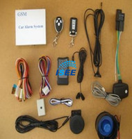Wholesale GSM Car Alarm System with Remote Start eEngine or Airconditioner Optional S GSM C2