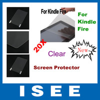 Wholesale 20pcs For Amazon Kindle Fire Screen Protector LCD Screen Guard for Amazon Kindle Fire without retail package
