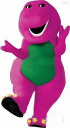 Wholesale barney Purple Character costume Cartoon Costumes halloween Christmas party mascot