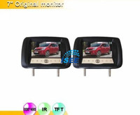 Wholesale 2pcs quot Digital High Resolution Exclusive Car Headrest Monitor S CAA