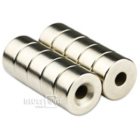 Wholesale Rare Earth Neodymium N50 Strong Round Ring Magnets mm x mm Hole mm