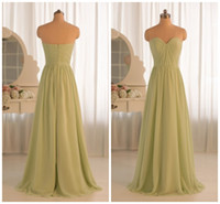 Model Pictures Pleats Sleeveless Real Model 2014 New Fashion Designer Sweetheart Pleated Sage A-line long Cheap Bridesmaid Dresses Wedding Party Dresses Prom Dress AA001