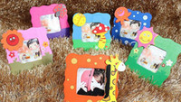 Cheap Home Decoraton Baby Picture Frame Korean cartoon photo frame wooden photo frame wood frame