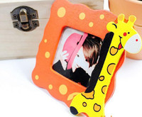 Cheap Baby Picture Frame Korean cartoon photo frame wooden photo frame wood frame Home decoration