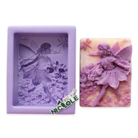 Wholesale Hot Sale Nicole R0557 Fairy Molds for Soap Candle Baby Polymer Clay Mold Kids Love silicone mold